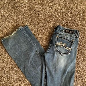 Miss Me boot cut jeans size 29
